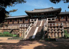 scenic, tradition, landscape, temple, korea, unified silla kingdom, construction