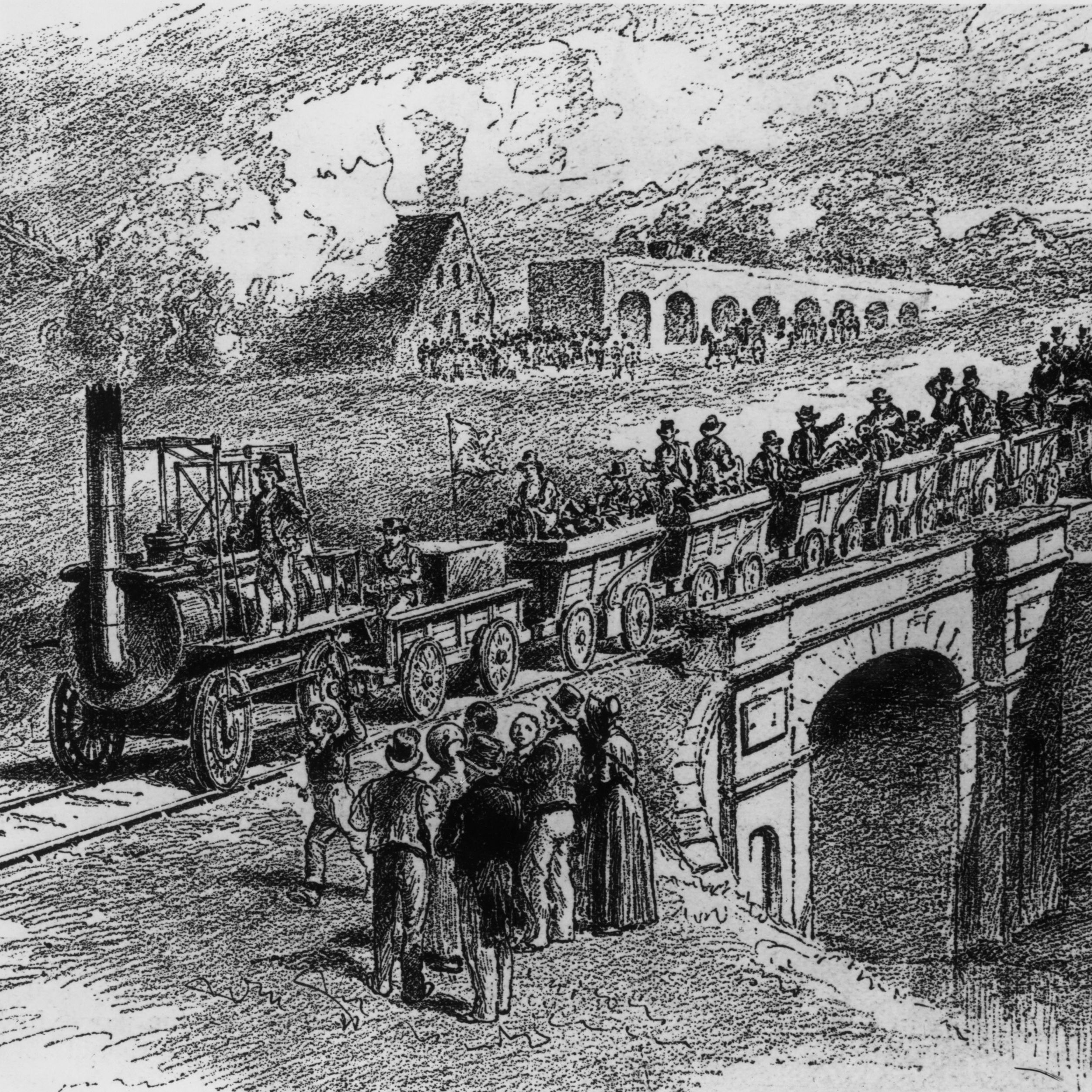 The Railways in the Industrial Revolution