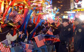 New Years Eve In Times Square, Bloomberg Mayor