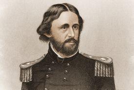 Engraved portrait of John C. Frémont