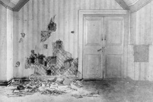 Room where Czar Nicholas and his family were murdered