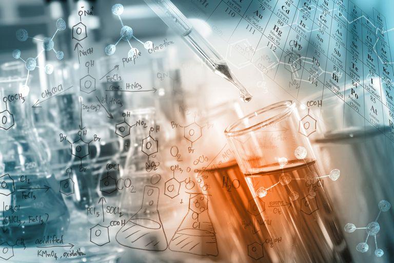 Chemistry concept art