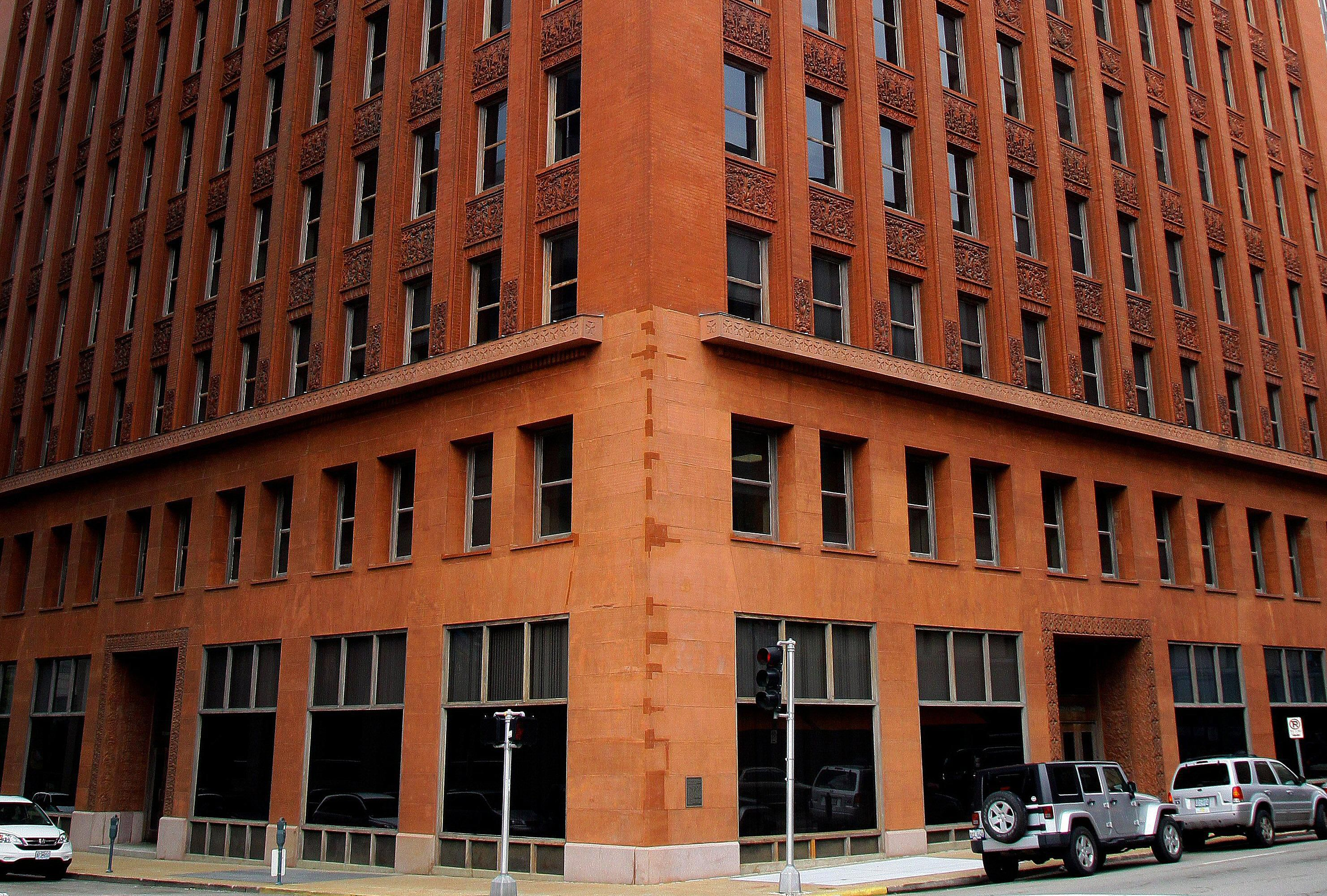 First floors of the Wainwright Building in St. Louis, Missouri