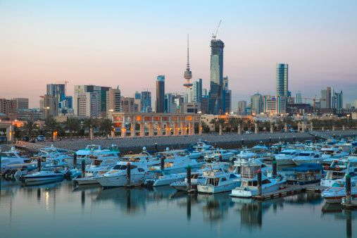 Kuwait City marina