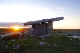 Ancient sacred tomb in Ireland