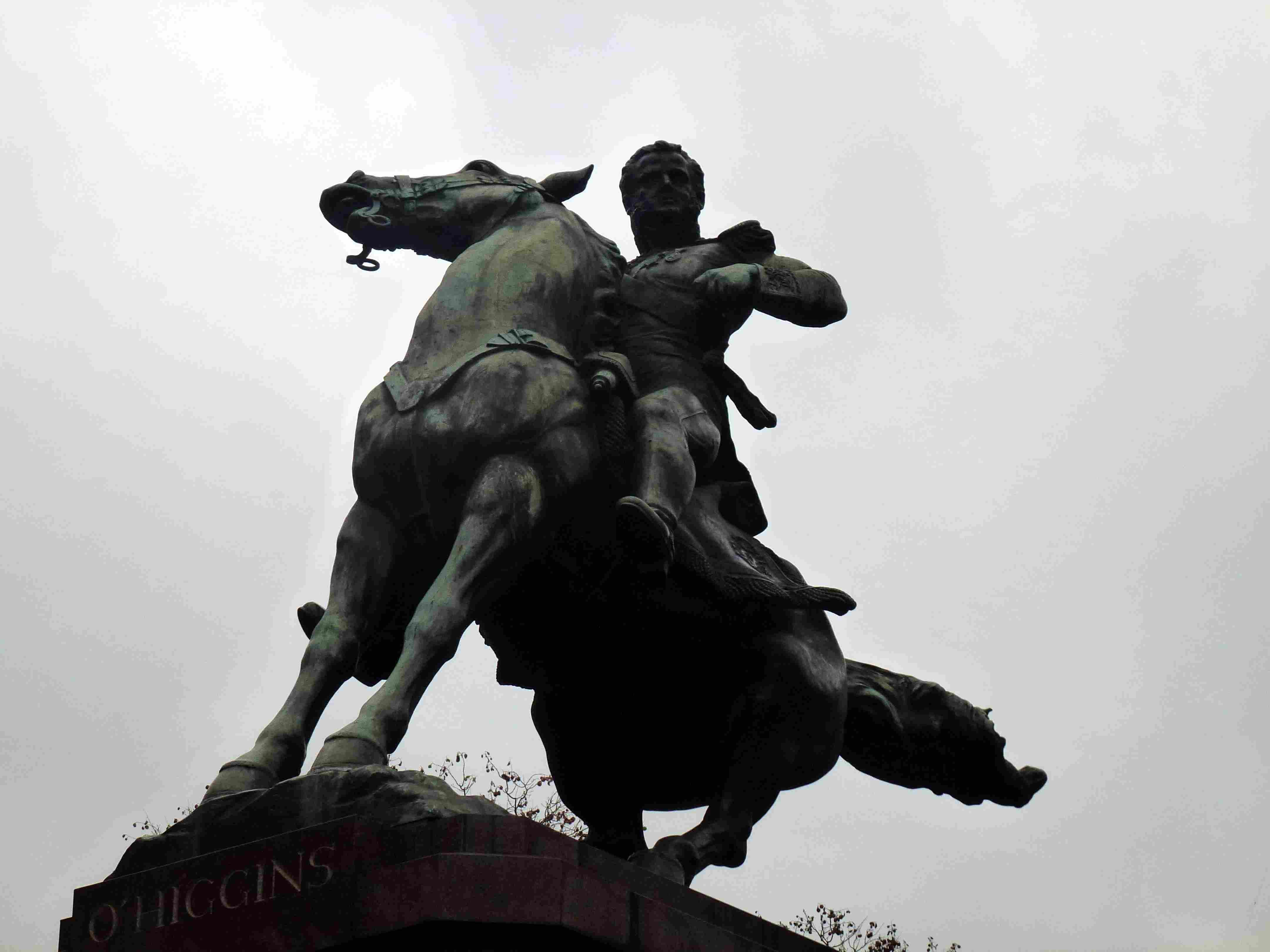 Monument to Bernardo O'Higgins, Plaza República de Chile