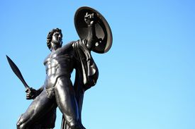 Statue of Achilles in London