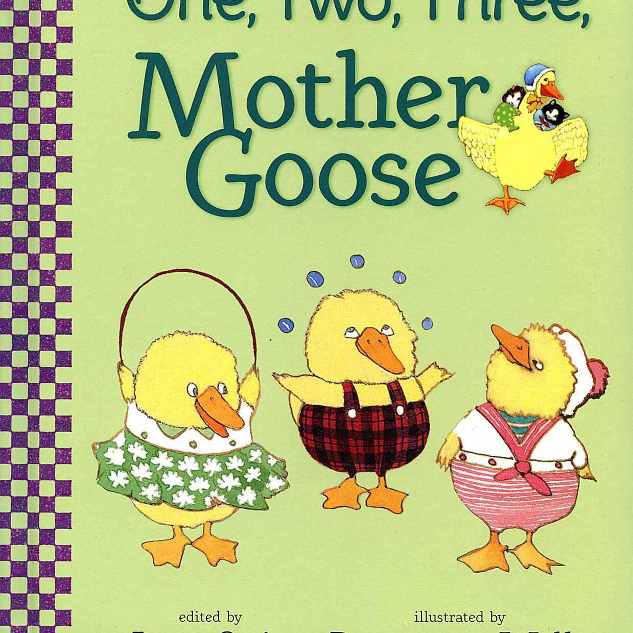 Uno, dos, tres, mamá ganso - libro de cartón