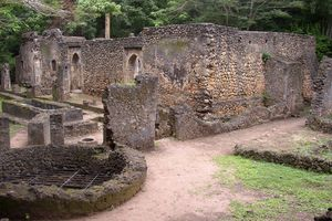Great Mosque at Gedi