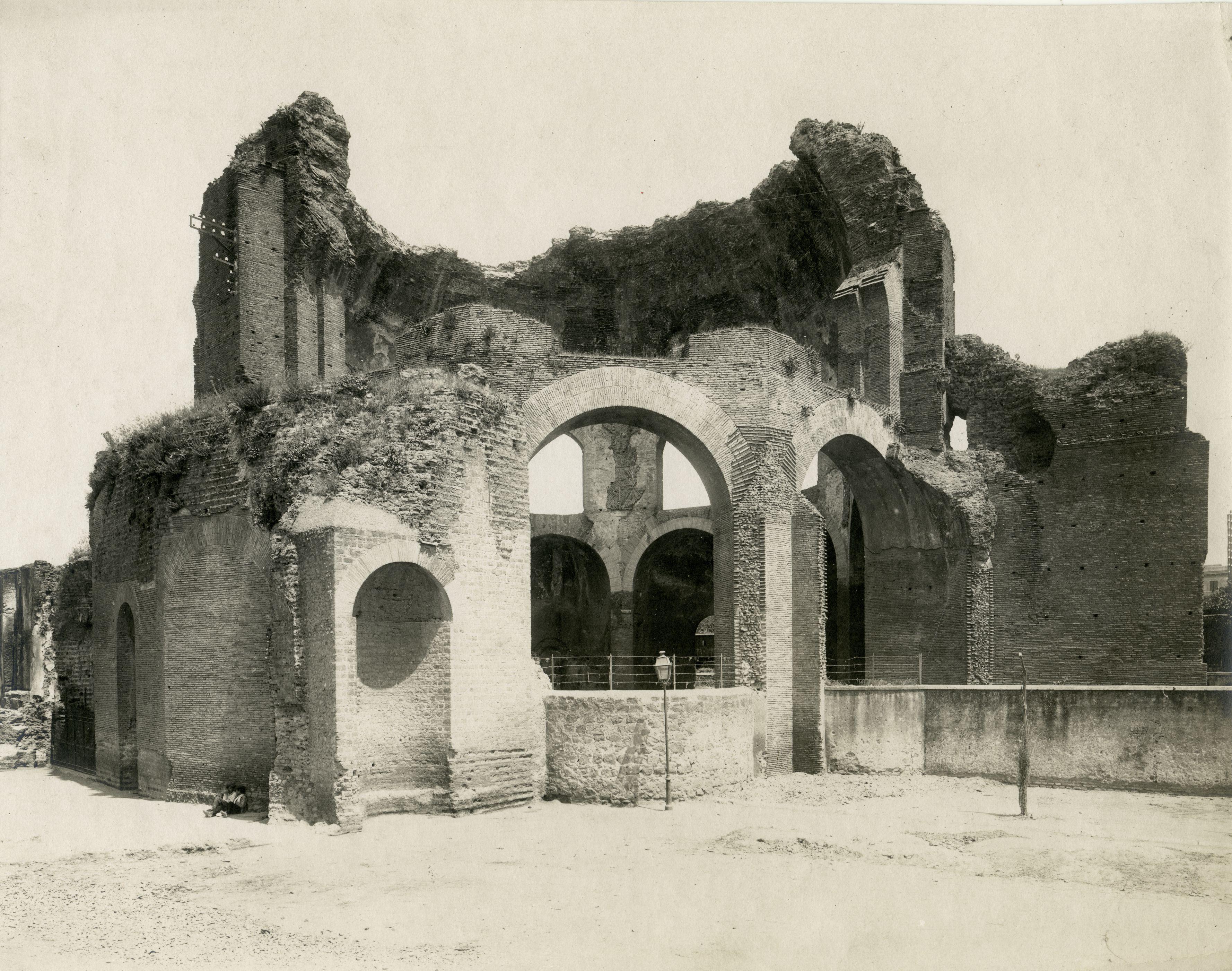 Temple of Minerva Medica (nymphaeum), Rome, Italy, photograph from Istituto Italiano dArti Grafiche, 1905-1908