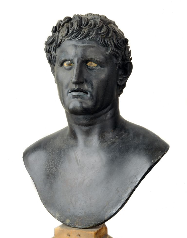 Bronze bust of Seleucus I Nicator