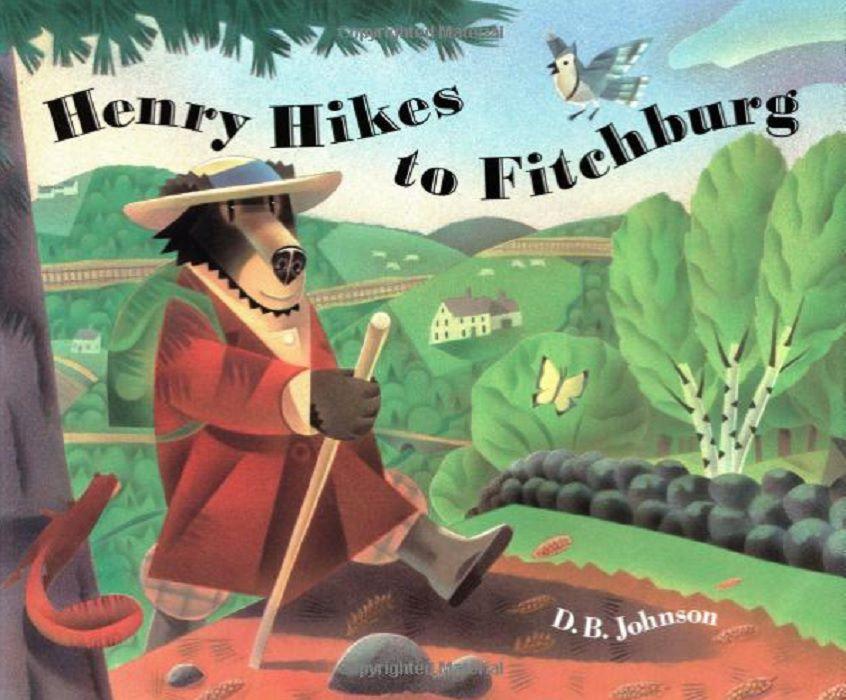 Henry Hikes to Fitchburg por DB Johnson portada del libro