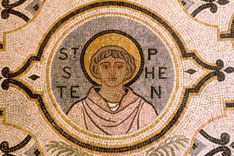 Mosaic of Saint Stephen, Protomartyer