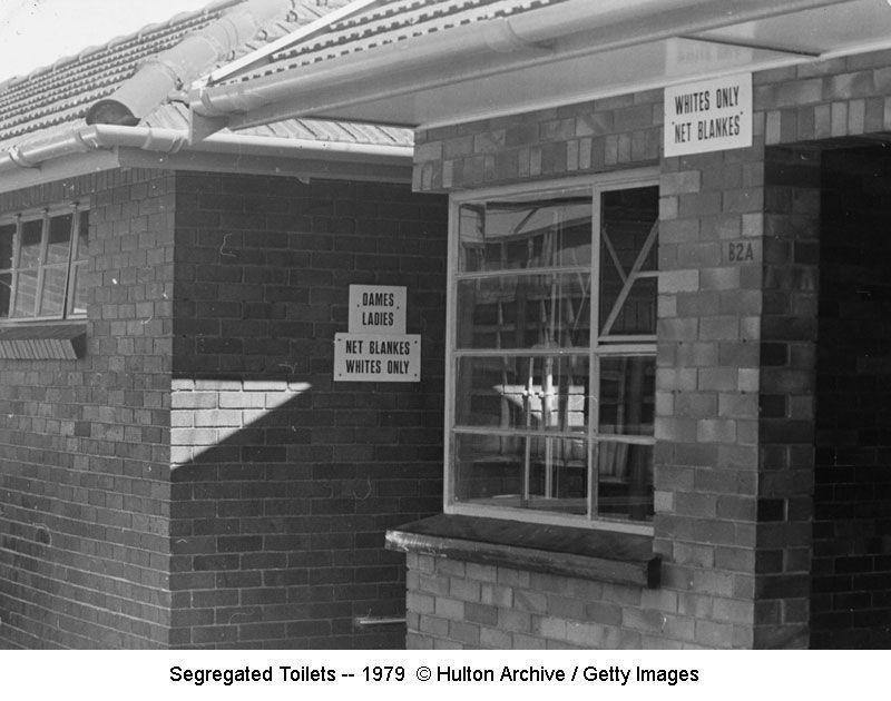 Segregated Toilets -- 1979
