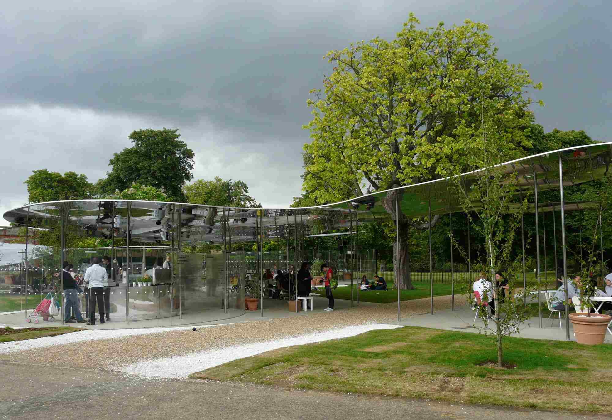Serpentine Gallery Pavilion 2009 by Kazuyo Sejima and Ryue Nishizawa SANAA