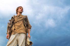 A man in medieval European garb