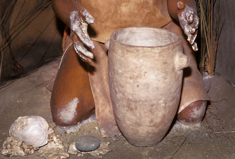 Shawnee Pottery Making