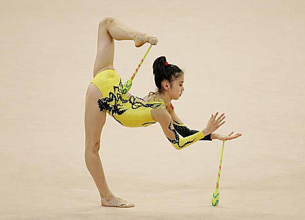 rhythmic gymnastics events and apparatus
