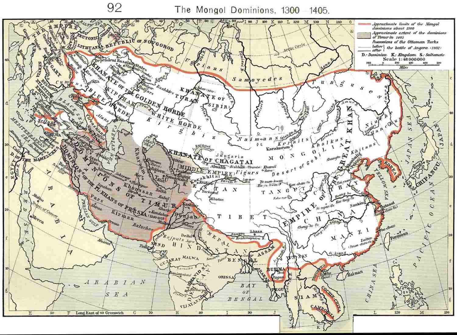 Effects of the Mongol Empire on Europe
