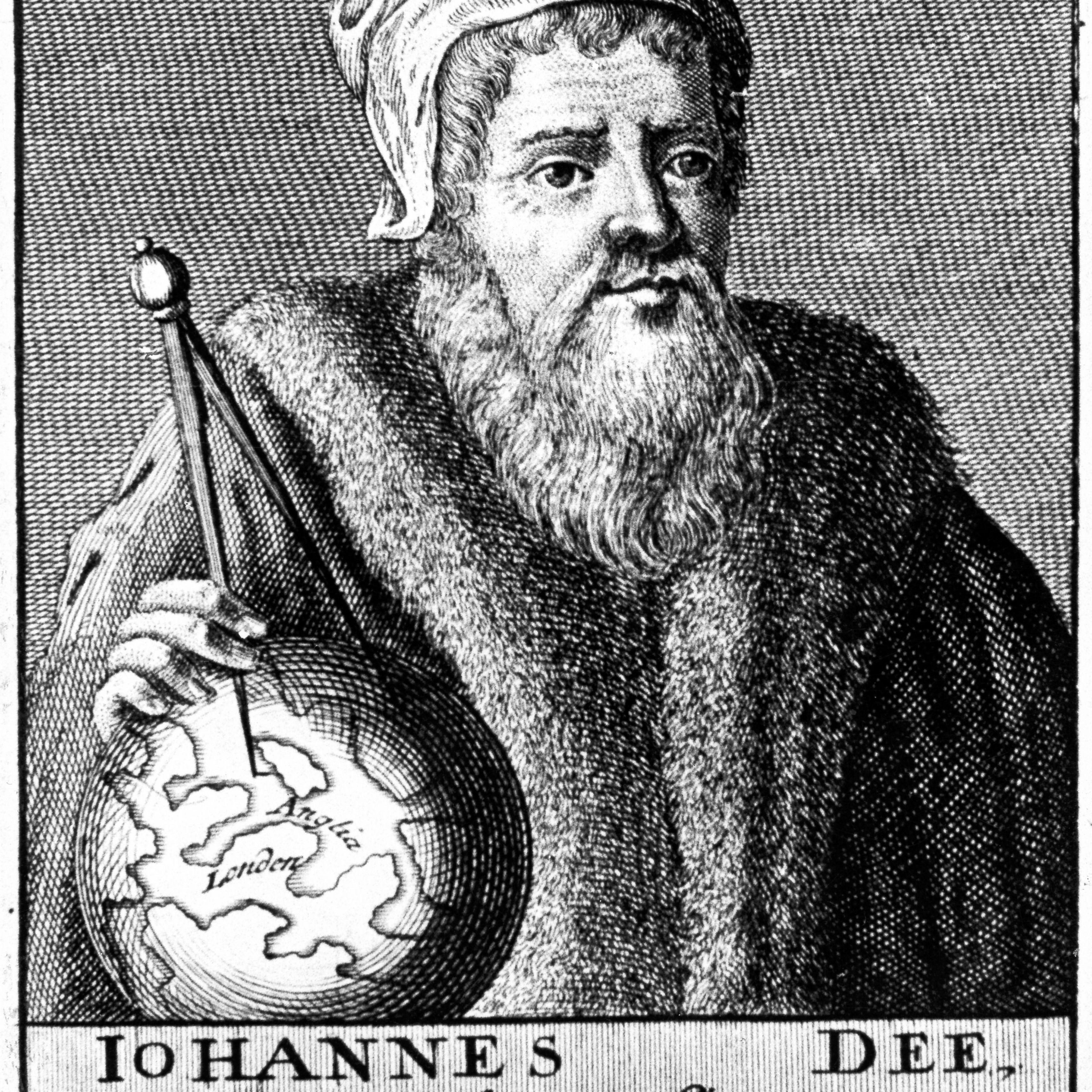 John Dee, English Alchemist, Geographer and Mathematician, c1590 (18th century).