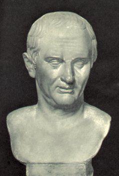 Bust of Marcus Tullius Cicero (106-43 BC)