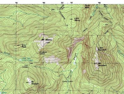 an example of a topographic map