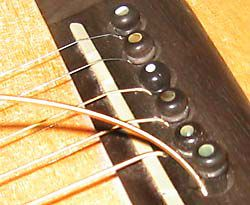changing strings on an acoustic guitar for beginners. Black Bedroom Furniture Sets. Home Design Ideas