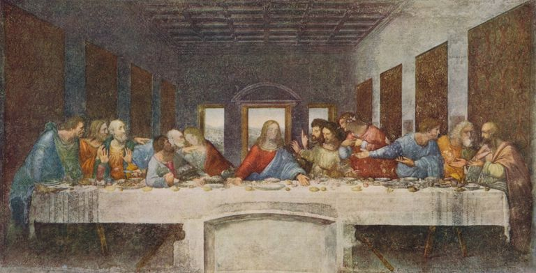 'The Last Supper', 1494-1498. Artist: Leonardo Da Vinci.