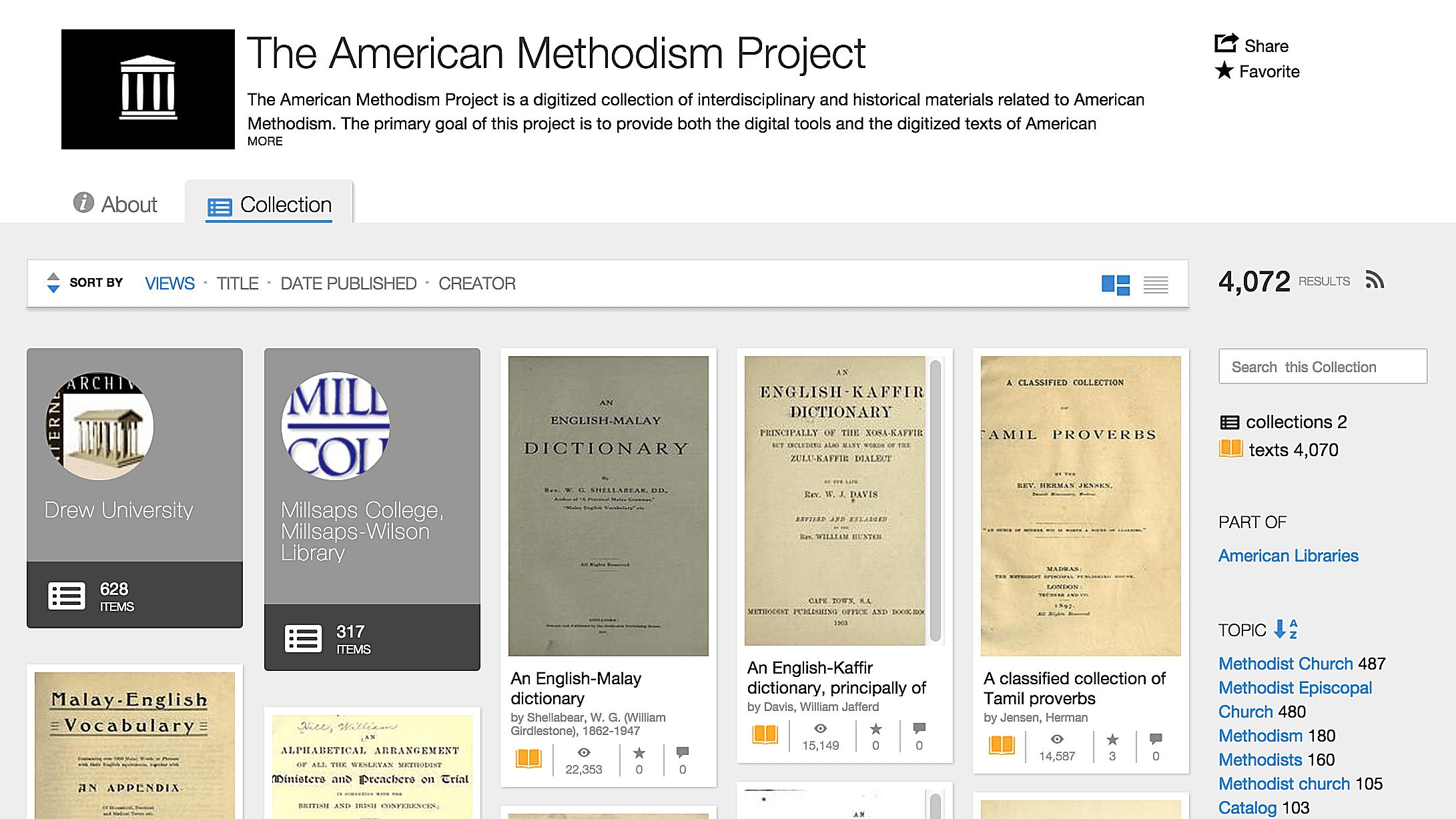 american methodist project