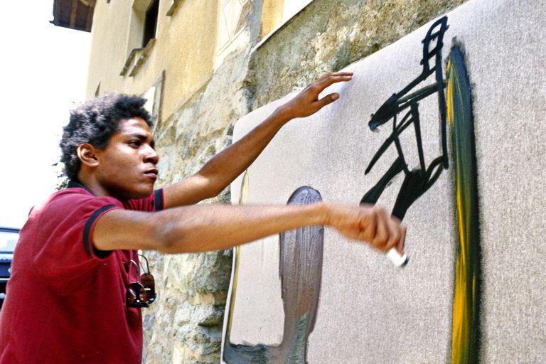 Artist Jean-Michel Basquiat
