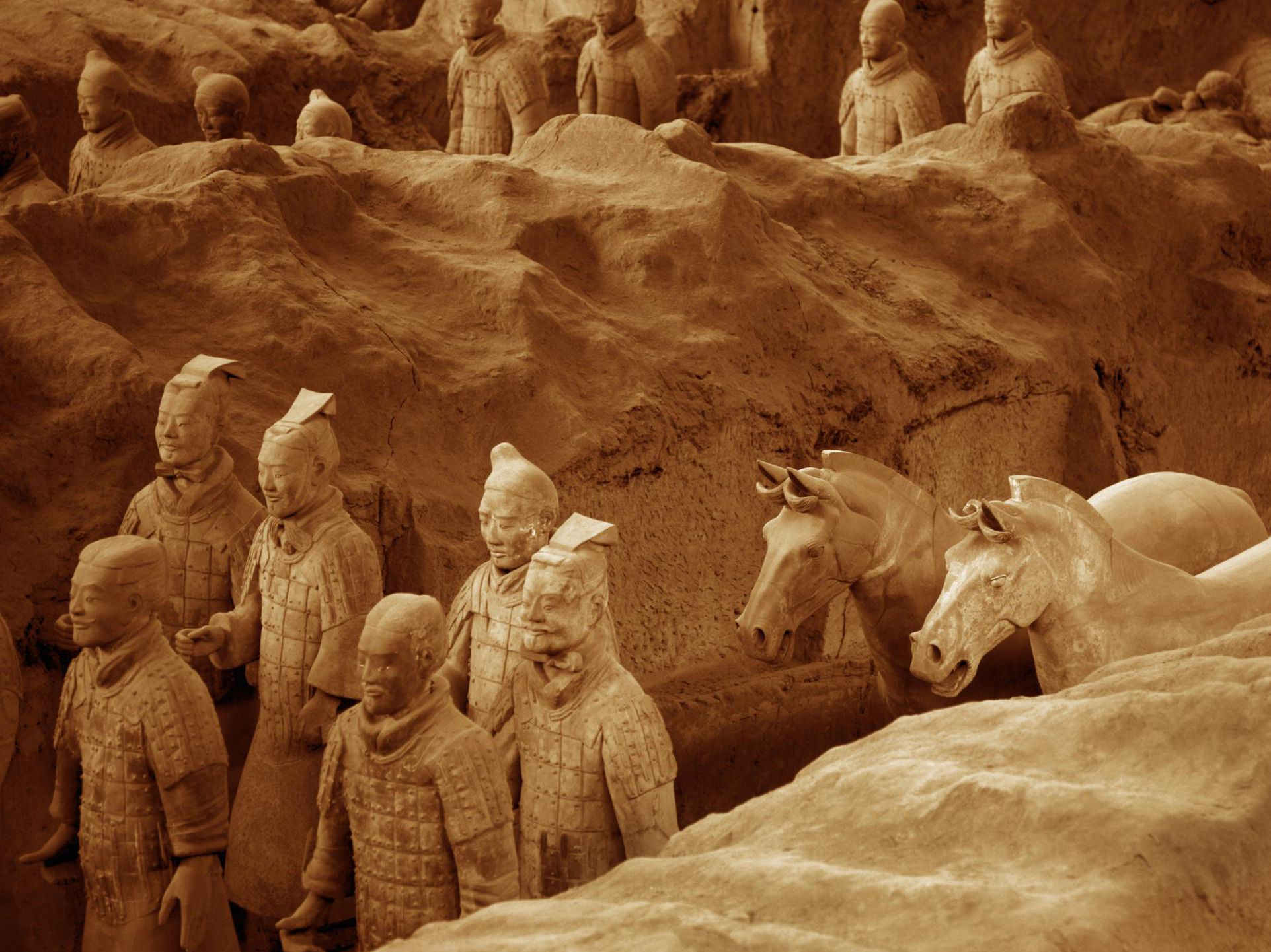 When Was the Terracotta Army Found?