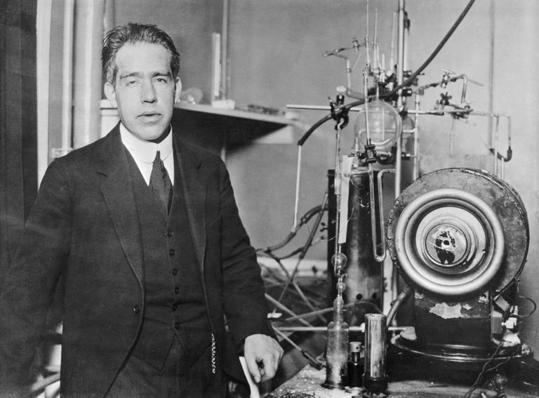 Physicist Niels Bohr