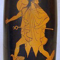 Lekythos of Hermes