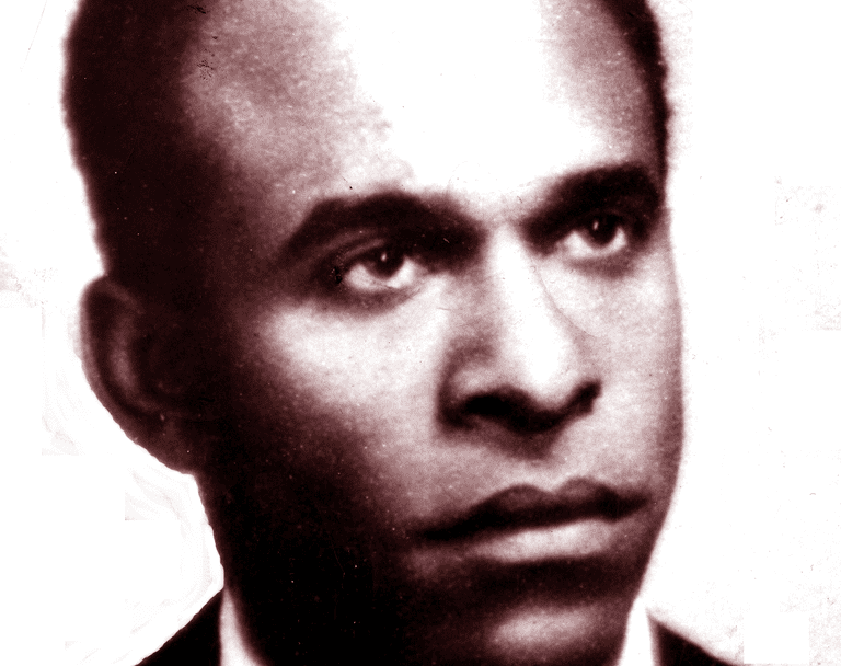 Portrait of Frantz Fanon