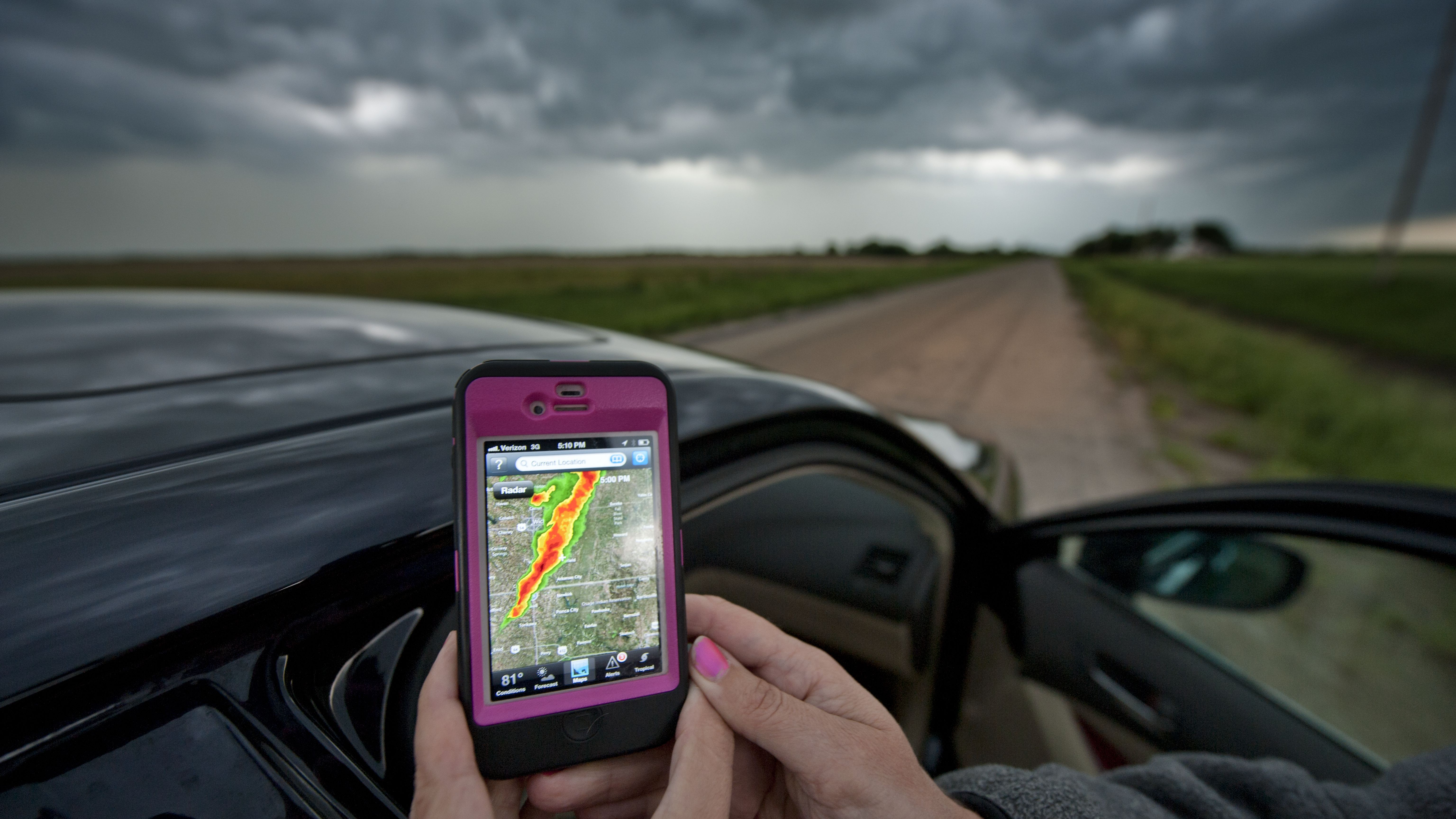 How to Identify Severe Thunderstorms on Radar