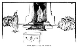 first appearance of oedipus