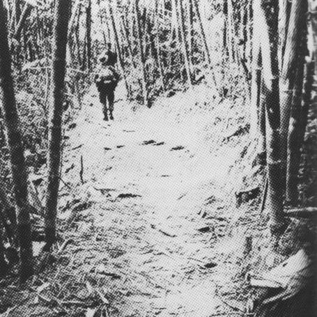The Ho Chi Minh Trail, supply route for Communist Forces during the Vietnam War.