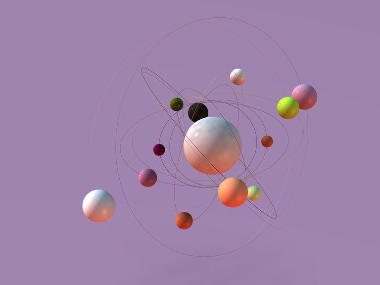 Atom concept artwork