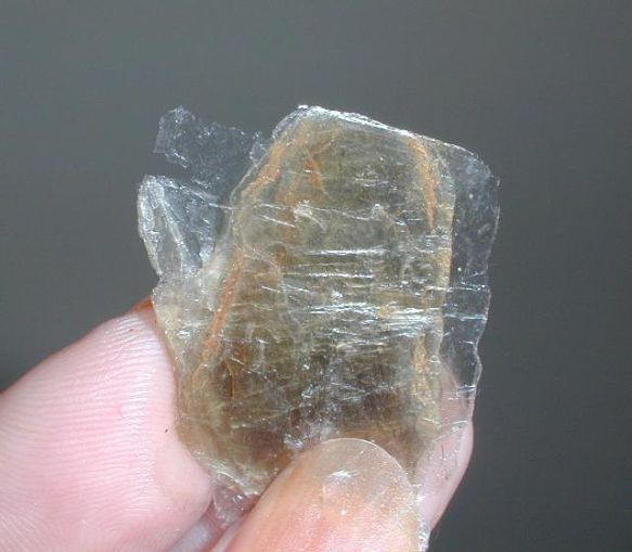 Mica from the Emerald Hollow Mine in Hiddenite, NC.