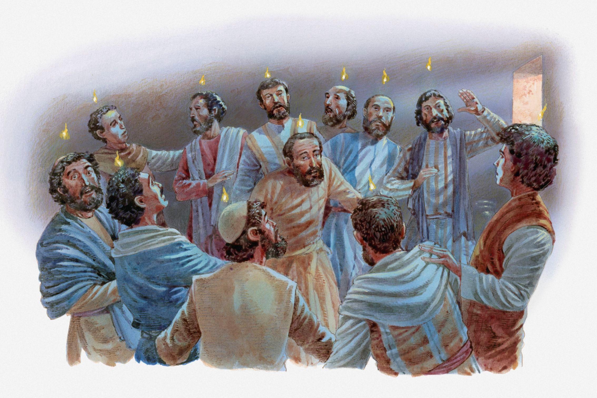 Pentecost bible study - cogrm.com