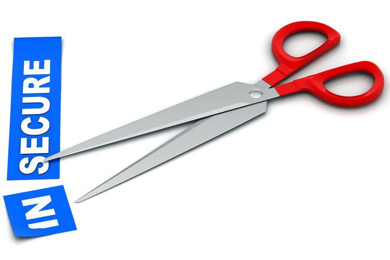 Scissors removing the prefix