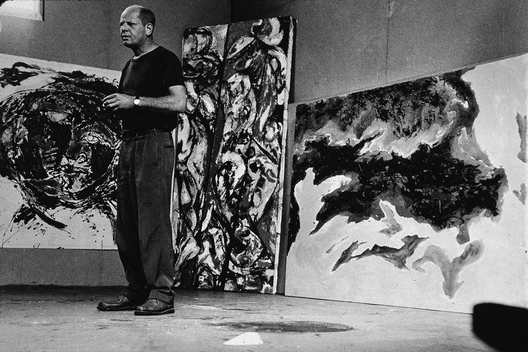Jackson Pollock & His Work