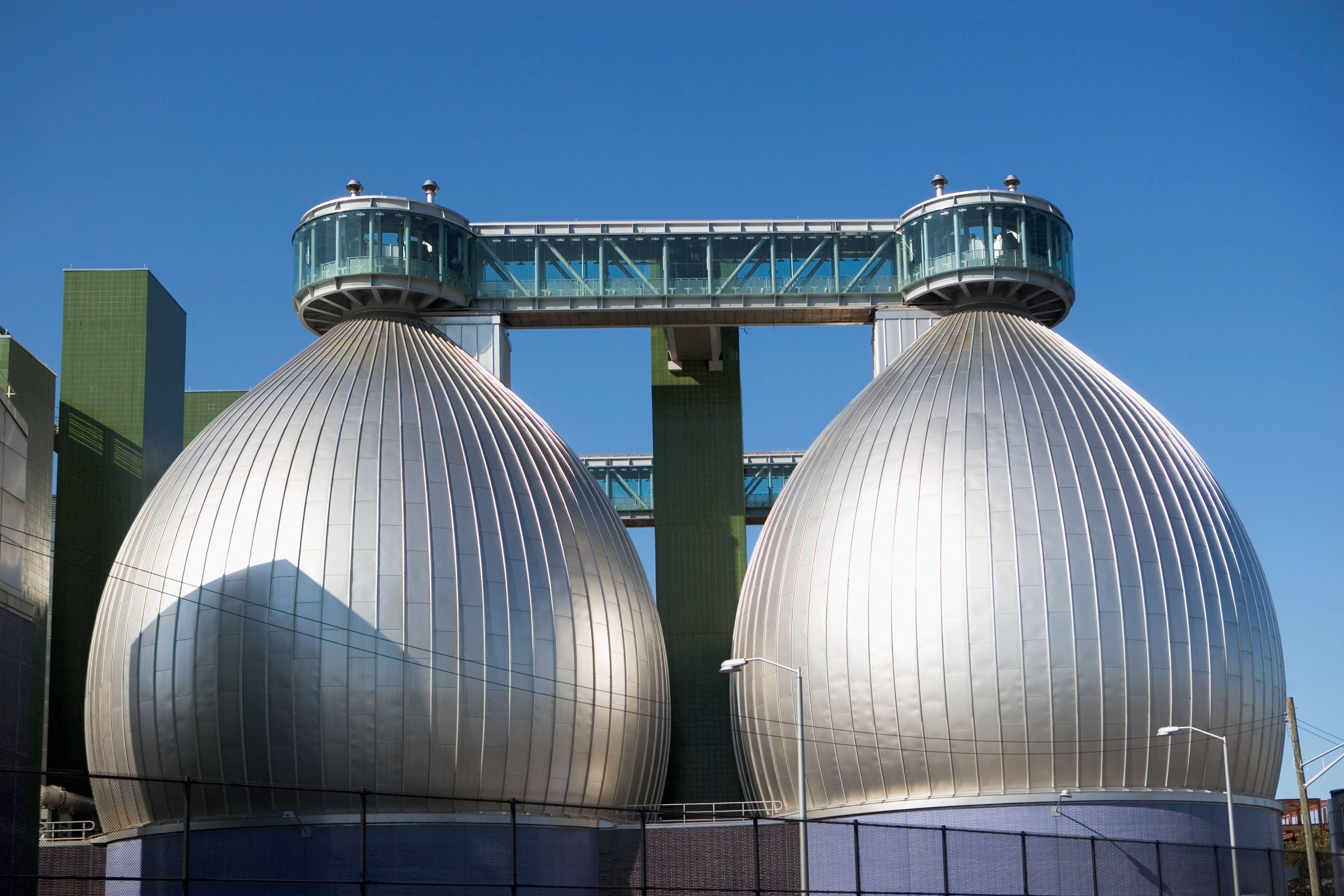 Newtown Creek Wastewater Treatment Plant, New York