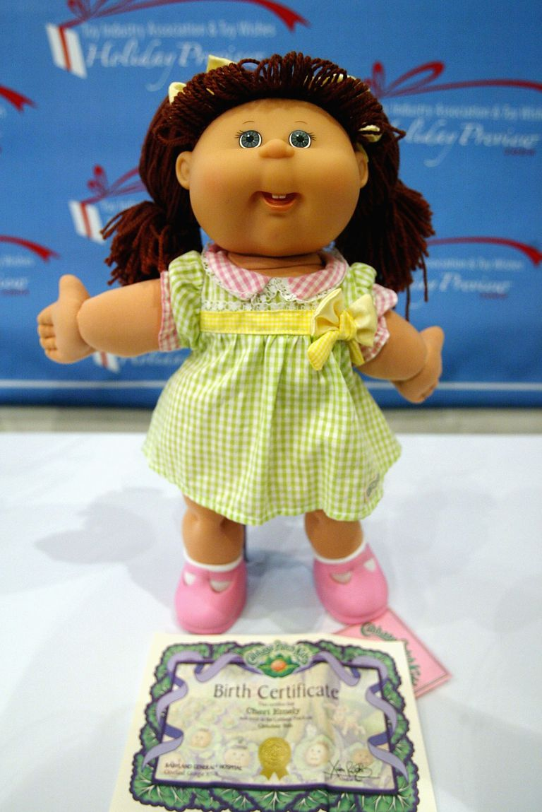 A picture of a Cabbage Patch Kids doll.
