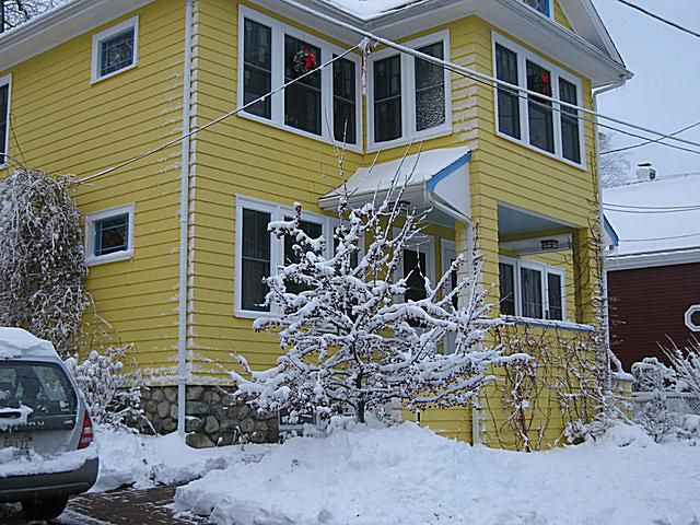 Not-So-Mellow Yellow House Paint