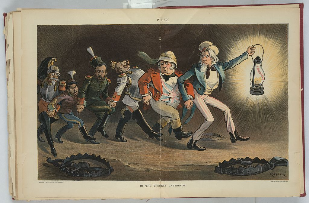 During the Boxer Rebellion, Germany was at the forefront in belligerence against China