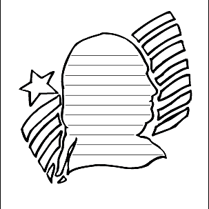 American Coloring Page