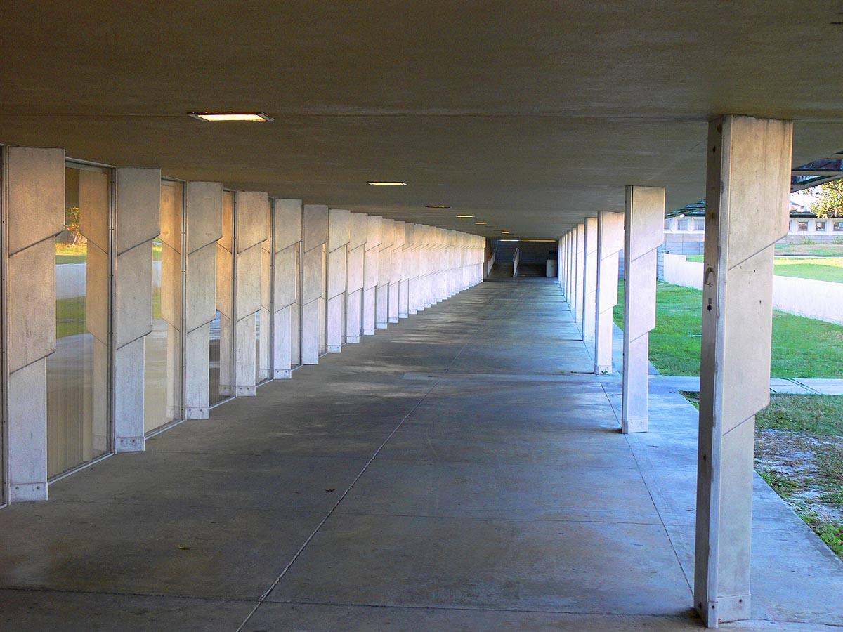 Polk County Science Building Esplanade