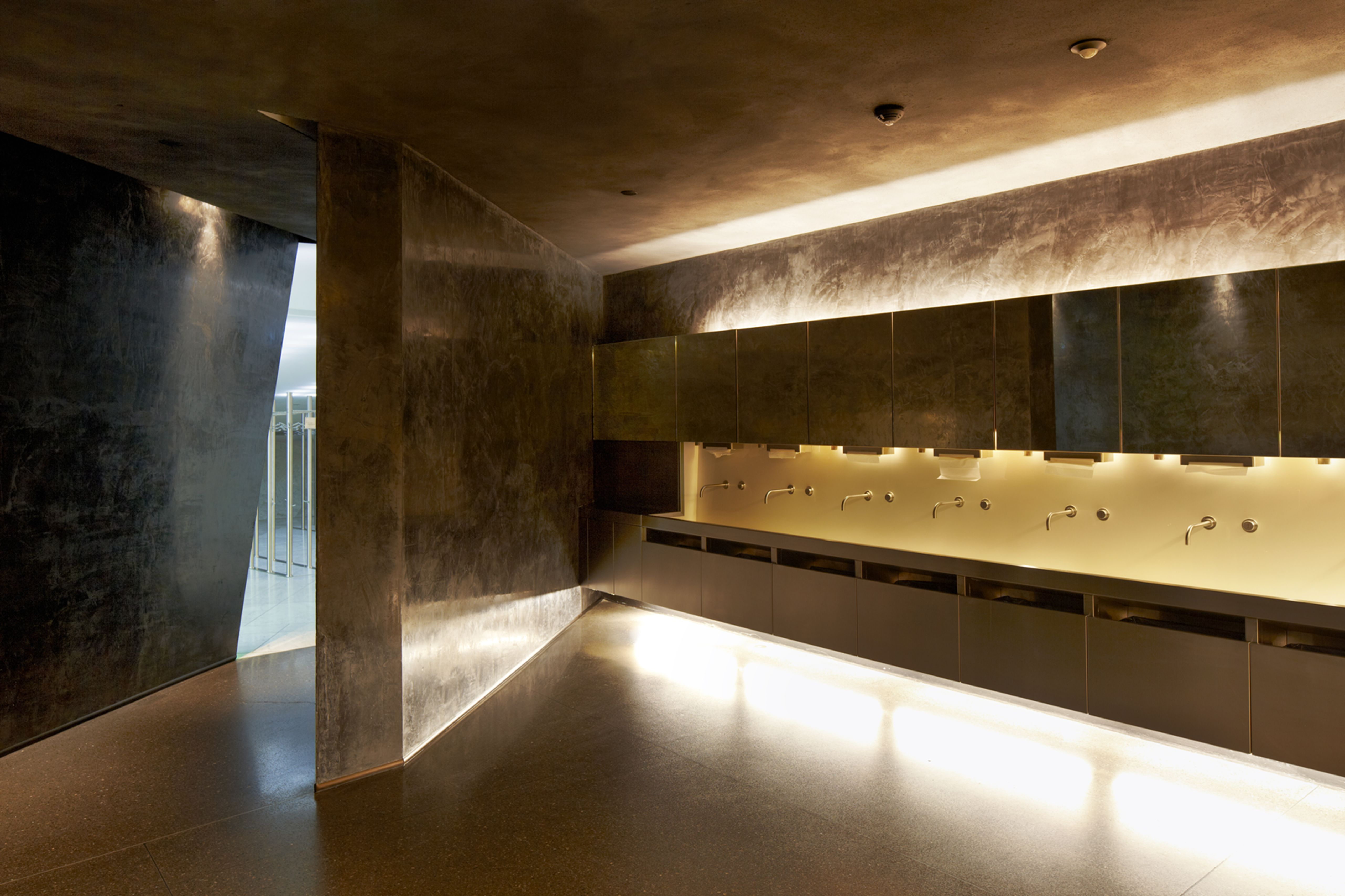 Men's Toilet Area in the Oslo Opera House