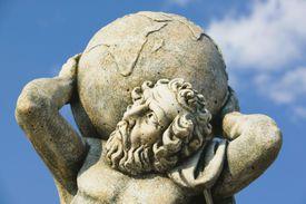 Statue of Atlas, Kokolata, Kefalonia